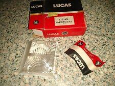 LUCAS L868 LH REVERSE LIGHT LENSE LENS - TRIUMPH DOLOMITE & SPRINT & 1500 1500TC