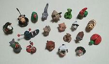 20 animaux pour vitrine, crèche, collection,maison de poupée, mini vitrine  lot5