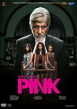 PINK - OFFICIAL BOLLYWOOD DVD *AMITABH BACHCHAN - FREE POST
