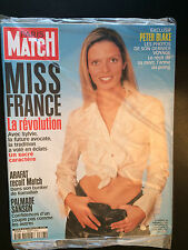 paris match n°2743 miss france sylvie tellier arafat peter blake  2001
