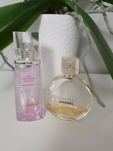 Chanel Chance & Givenchy  Edt