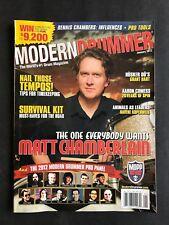 Modern Drummer Magazine January 2012  Matt Chamberain