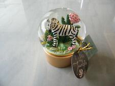 Glas-glitzerkugel Zebra I Love My Jungle Garden
