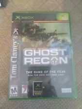 Tom Clancy's Ghost Recon Microsoft Xbox Video Game New Sealed