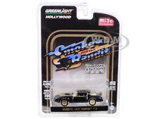 1977 PONTIAC FIREBIRD T/A BLACK CHROME SMOKEY & THE BANDIT 1/64 GREENLIGHT 51223