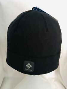 NEW Columbia Agent Heat Beanie Hat BLACK