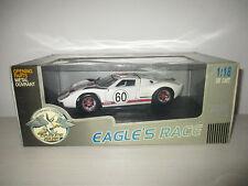FORD GT 40 MK II N°60 LE MANS 1996 EAGLE'S RACE SCALA 1:18