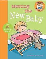 First Experience Sticker Book - New Baby, King, Sue, Very Good Book