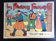 SUPERBE ancien album à Colorier Cri Cri Les provinces françaises BON ETAT