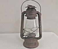WW2  Old  Vintage Feuerhand No. 252 Kerosene Oil Lamp /Lantern, Germany R8
