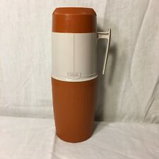 Vintage Thermos Wide Mouth 6402 Beige 1 Quart Vacuum Jar Made in Canada