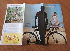 OLD BIKE LIVRET Publicité Vélos PEUGEOT PX10 PX50 PX45 PX8  1967