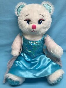 BABW Disney Frozen Elsa Cat Glitters Blue Sequined Dress 18""