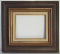 VINTAGE WOOD / GILDED  FRAME FOR PAINTING 10 X 8  INCH OUTSIDE 19 X 17 INCH