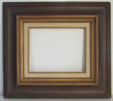 VINTAGE WOOD FRAME FOR PAINTING 10 X 8  INCH OUTSIDE 19 X 17 INCH