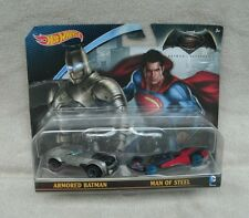 Hot Wheels Batman VS Superman Character Car 2-Pack ~ NEW
