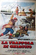 manifesto movie poster 2F LA TRAPPOLA DI GHIACCIO NIKKI WILD DOG OF THE NORTH