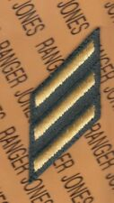 """US Army Years of Service Stripes Hashmark Class A's 3"""" patch 3=9 years LG"""