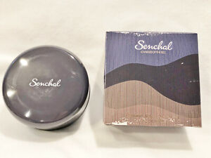 VTG CHARLES OF THE RITZ - SENCHAL - PERFUMED DUSTING POWDER WITH PUFF - 4.0 oz