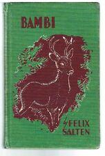 Bambi by Felix Salten 1929 Rare Antique Book! $
