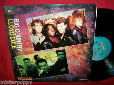 BIG COUNTRY + LLOYD COLE rare Promo only split LP ITALY 1990 Unique Art Cover