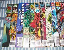 Marvel Comics OVER THE EDGE #1-10 complete Run with Daredevil, Hulk, Dr. Strange