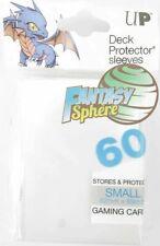 Yu-Gi-Oh! 60 Protèges Cartes / Pochettes / Sleeves SMALL Ultra PRO White Blanc