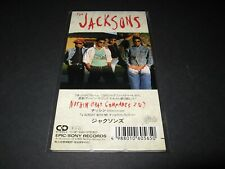 "JACKSONS-MICHAEL JACKSON Nothin (That Compares) JAPAN 3"" CD 10.8P-3065 Unsnapped"
