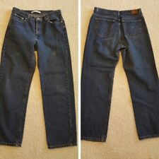 Tommy Hilfiger Boyfriend Jeans Women's Size 8 Straight Leg INSEAM 28 IN.MED WASH