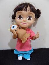 Disney Babblin Boo Doll Monsters Inc 2001 Plush Little Mikey Babbling Singing