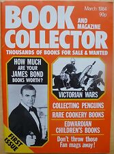 BOOK COLLECTOR AND MAGAZINE: ISSUE 1 MARCH 1984 NM JAMES BOND, PENGUIN BOOKS etc