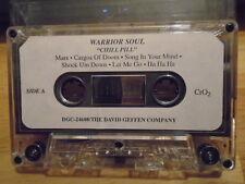 RARE ADVANCE PROMO Warrior Soul CASSETTE TAPE Chill Pill Trouble HANOI ROCKS '93