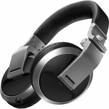 Pioneer HDJ-X5-S Professional Over-Ear DJ Headphones w/ Coiled Cable & Pouch
