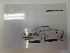 Betriebsanleitung Mercedes Benz SL Klasse R129 SL 280 320 500 600  NEU