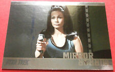 "STAR TREK TOS 50th Anniversary - MM44 ""MIRROR, MIRROR"" (uncut) - Foil Chase Card"