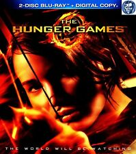 The Hunger Games 2-Blu ray Disc Set in case Special Features (Digital outdated)