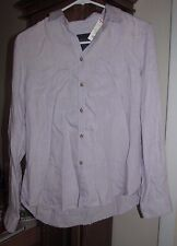 Women's American Eagle Outfitters Light Lavender Button Up Shirt Size S - NEW