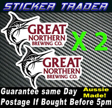 Great Northern Brewing Co BEER 150mm Stickers 4x4 Mancave BBQ BOAT CAR Trailer