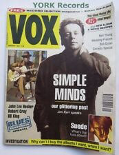 VOX MAGAZINE - Issue 28 January 1993 - Simple Minds / Suede / John Lee Hooker