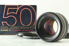 [Near Mint in Box ]Contax Carl Zeiss Planar T 50mm f/1.4 MF MMJ JAPAN