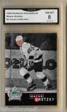 95-96 Parkhurst Wayne Gretzky Crown Collection Silver #6 Graded GMA 8 NM MT