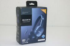 Sony: Dr-Nc201iP Over-Ear Noise Cancelling Headset - Blue