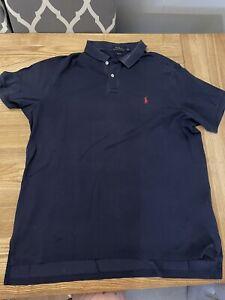Mens Ralph Lauren Polo Shirt XXL Navy