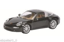 PORSCHE 911 Targa 4s Negro Art Núm 452617100 Schuco H0 modelo 1:87