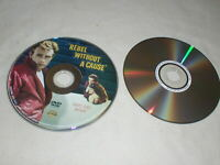 LOT of Rebel Without A Cause+Giant DVD's James Dean DISCS ONLY Widescreen