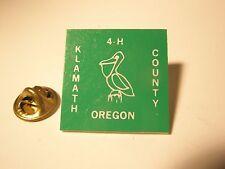 4H Klamath County Oregon Vintage Lapel Pin gift