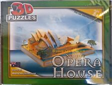 ~ SYDNEY OPERA HOUSE 3D PUZZLE LARGE DETAILED MODEL & LIGHTS BATTERY JIGSAW