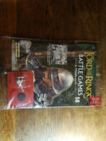 Orc Captain Metal & Lord of the Rings Magazine #58 Deagostini Warhammer Mordor