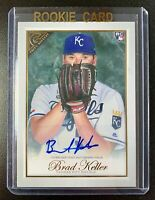 2019 Topps Gallery BRAD KELLER Autograph Rookie Signature #36 Kansas City Royals