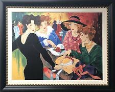 """Custom Framed Art - Marcia Banks - Signed Art 36/95 - """"Chic in Black"""""""
